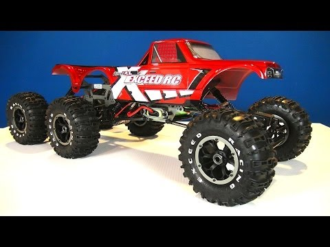 RC ADVENTURES - Exceed RC 1/8 scale 6x6 MadTorque Crawler /w SPECiAL GUEST!