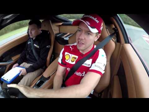 Sebastian Vettel Scares Will Buxton in a Ferrari F12 in Texas - Off the Grid