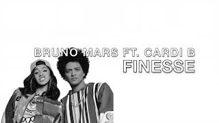 Bruno Mars Ft Cardi B - Finesse lyrics