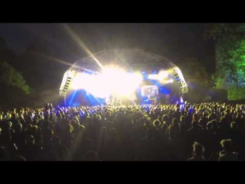Public Service Broadcasting Live @ Larmer Tree Festival 2014