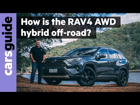 Toyota RAV4 Cruiser hybrid AWD 2020: off-road review