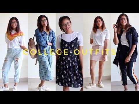 Back to College Lookbook | 5 Outfit Ideas | 2018