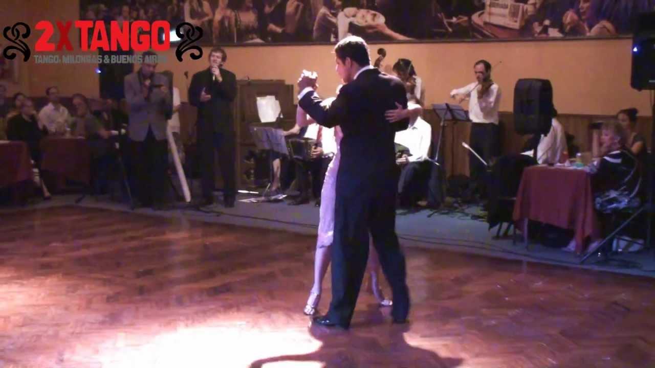 Roberto zuccarino y magdalena valdez tango el abrojito en for A puro tango salon canning