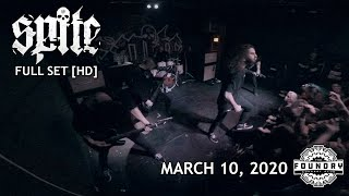 Spite - Full Set HD - Live at The Foundry Concert Club