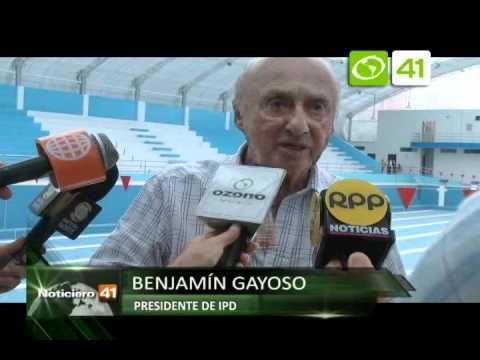 Inspeccionan nueva piscina olímpica - Trujillo