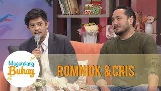 Magandang Buhay: Romnick and Cris share the story about how they met each other