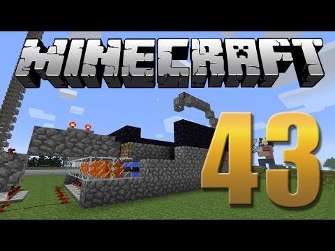 Gerador de cobblestone 100% automático com TNT - Minecraft Em busca da casa automática #43.