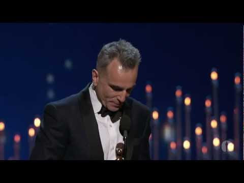Daniel Day-Lewis winning Best Actor for Lincoln