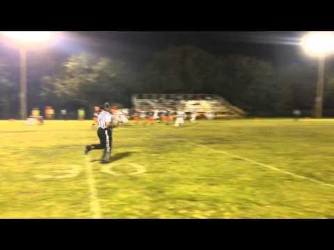 Bradenton Christian School homecoming football game