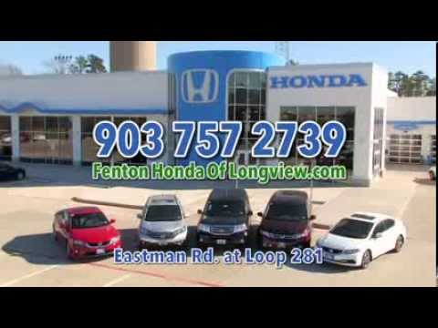 Come see our new facility - Fenton Honda of Longview