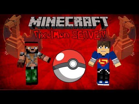 Minecraft Pixelmon Mod - PokeBallers Server Review (Ip In Description)