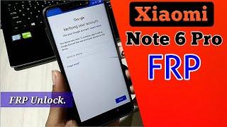 Xiaomi Redmi Note 6 Pro FRP Unlock | Google Bypass| 100% work 🔥🔥