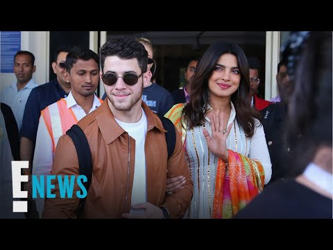 Priyanka Chopra & Nick Jonas Arrive For Wedding | E! News