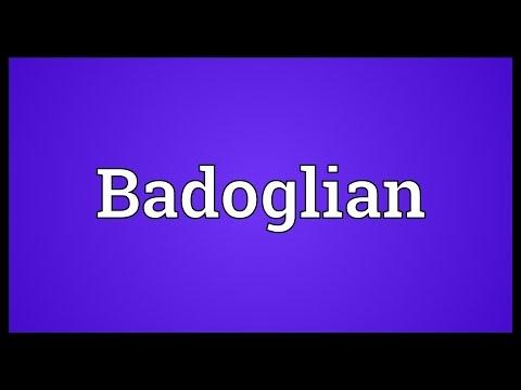 Header of badoglian