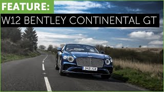 New Bentley Continental GT W12 car review with Tiff Needell