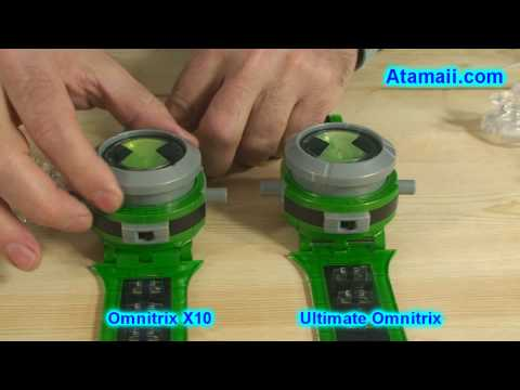 Ben 10 Omnitrix X10 Toy Review and Ultimate Alien Ultimatrix Preview w/ new Aliens