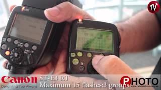 Canon 600EX-RT ST-E3-RT hands on