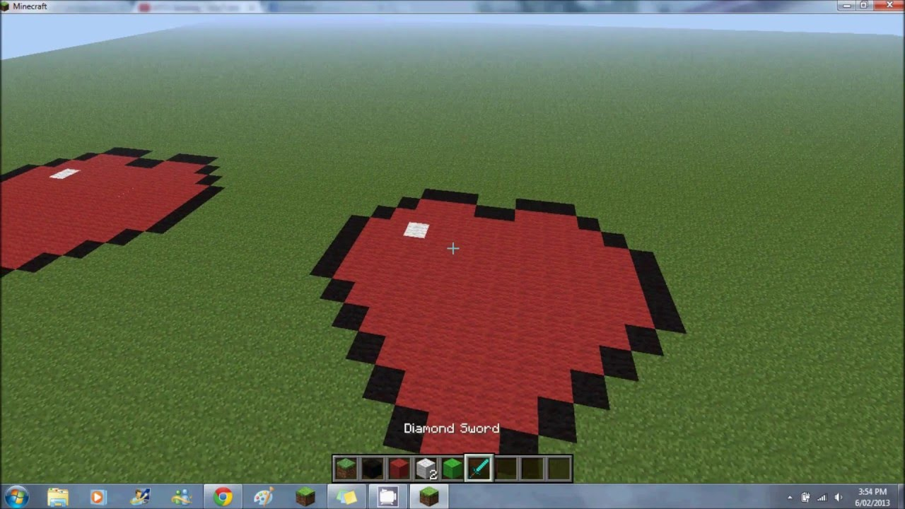 Minecraft How to Make a Love