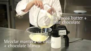 Como conseguir un efecto terciopelo en tus tartas / How to get a velvet effect on your cakes