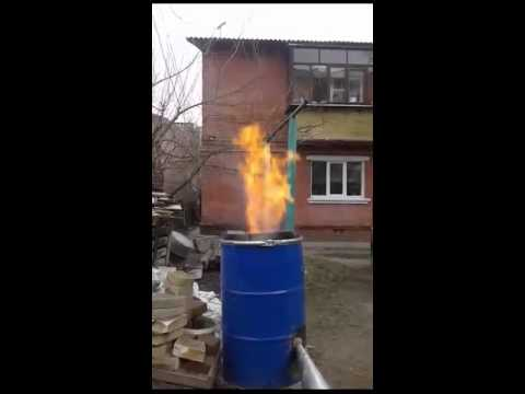 Горелка для сжигания опилок своими руками 5241