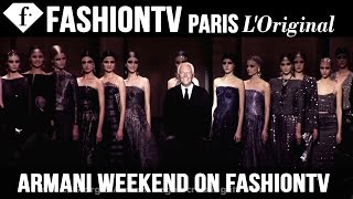 THE STORY OF GIORGIO ARMANI Weekend on FashionTV August 22-24