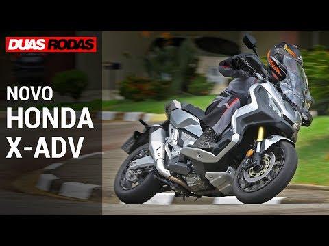 TESTE: NOVO HONDA X-ADV 750