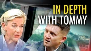 "Tommy Robinson tells Katie Hopkins: ""I'm going to be put back in prison"""