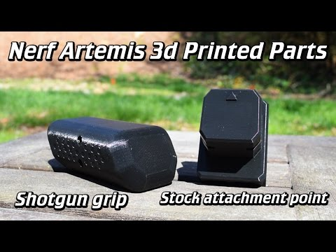 Review: Shotgun Grip and Stock Adapter for the Nerf Rival Artemis