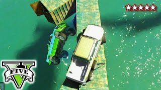 GTA 5 Funny Moments | Bumpy Truck Race | GTA V Online | Grand Theft Auto San Andreas