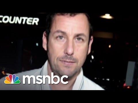 Native Americans Walk Off Set Of Adam Sandler Movie | Msnbc video