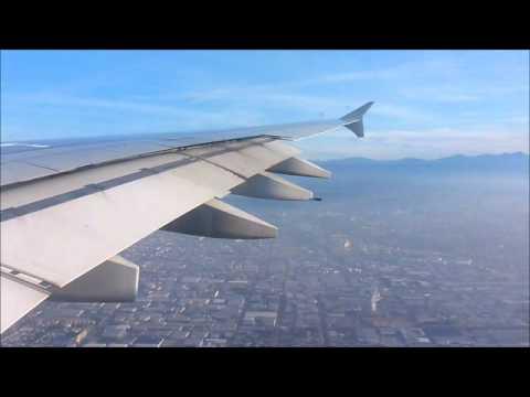 qf93 melbourne to lax qantas a380 landing youtube. Black Bedroom Furniture Sets. Home Design Ideas