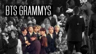 BTS REACTIONS AT GRAMMYS 2019 | Jungkook crying & boys dancing | VLOG/FANCAM