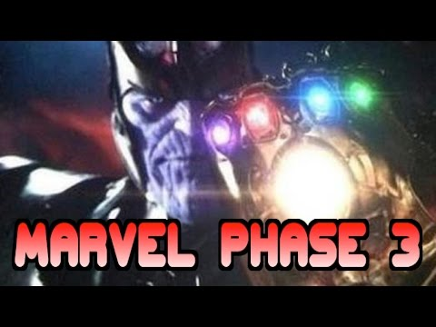 RMN: Marvel Phase 3 Annoucements
