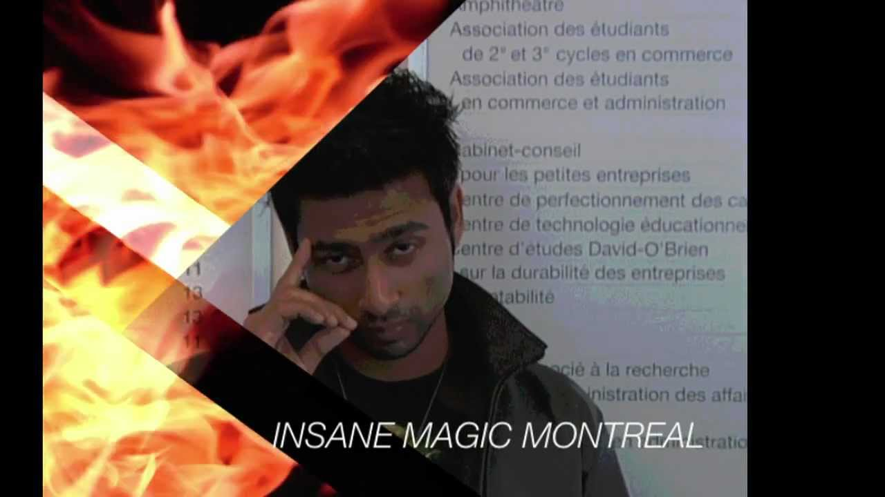 INSANE MAGIC MONTREAL Teaser Trailer