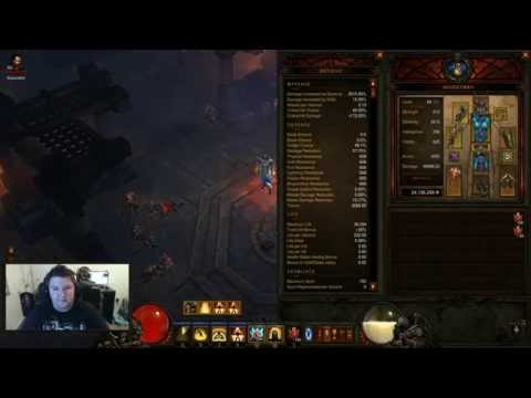 Mp10 Monk for 10 Million Gold - Patch 1.0.8 Diablo 3