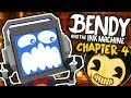 [FACECAM] Bendy & The Ink Machine CHAPTER 4 Full Gameplay ► Fandroid The Musical Robot