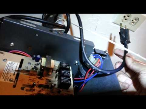 Garage door opener faulty capacitor repair part 1