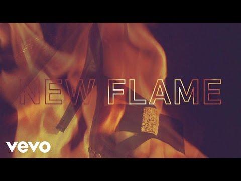 Chris Brown feat. Usher & Rick Ross - New Flame (Lyric)