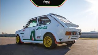 Fiat 127 with Alfa V6 turbo (ENG SUB)