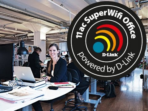 Stockholm's fastest 11ac wi-fi in the office