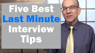 5 BEST Interview Tips - The Ultimate Formula to Interview Success