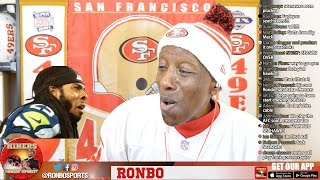 Ronbo Sports In Yo Face, At Yo Place Watching Falcons End Seahawks Season! NFL Playoffs 2017