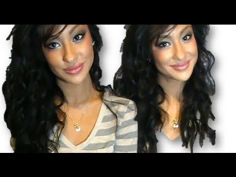 How to: Natural Looking Wavy-Curly Hair