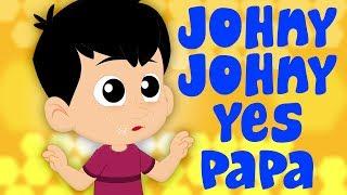 johny johny ใช่พ่อ | เพลง เด็ก อนุบาล | Johny Johny Yes Papa | Nursery Rhyme Kingdom Tv Thailand