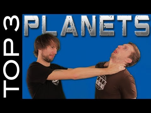 Liam and Brad discover cold volcanoes! Top 3 Planets #1