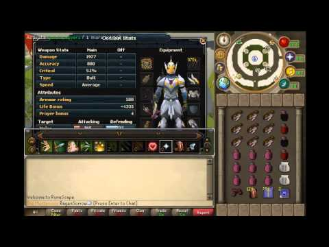 Runescape| Armadyl Godwars Dungeon Solo Guide For The EoC W/ Range By RagesSorrow
