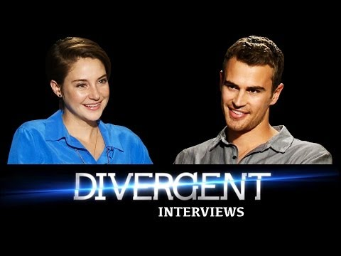 DIVERGENT Interviews: Shailene Woodley & Theo James