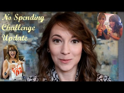 Save Money with a No Spending Money Challenge- Don't Spend Money for 1 Month UPDATE