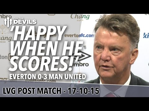 Everton 0-3 Manchester United | Louis Van Gaal Post Match Press Conference