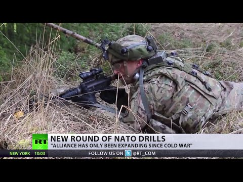 NATO launches massive war drills on Russia's doorstep